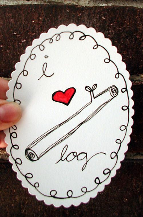 I heart log