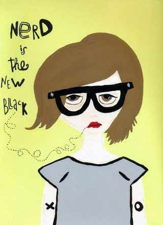 Nerd is the new blacksmall