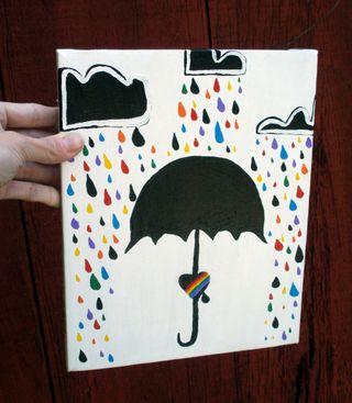 Rain is queer front