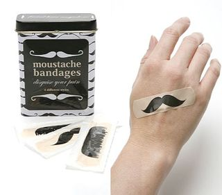 Moustache-bandages
