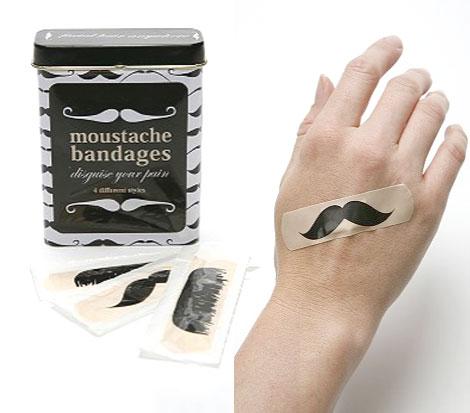 Moustache-bandages