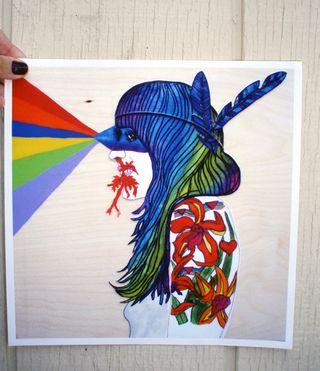 Heather print
