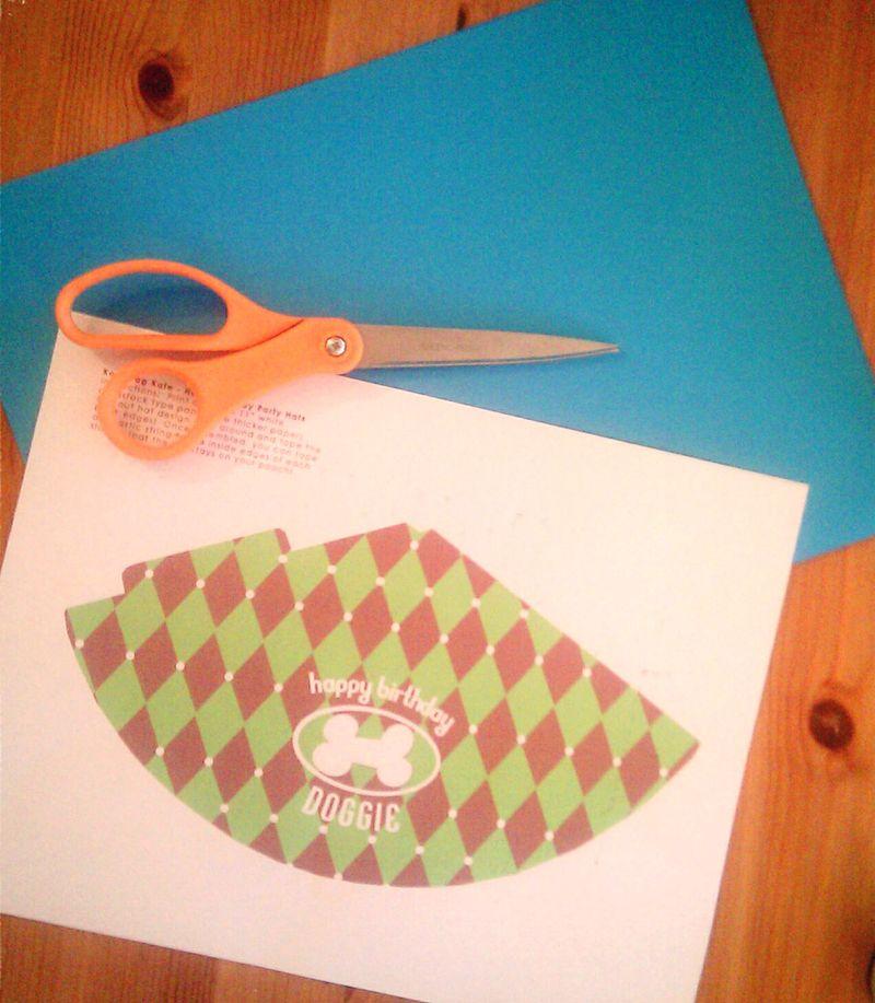 Scissors printout