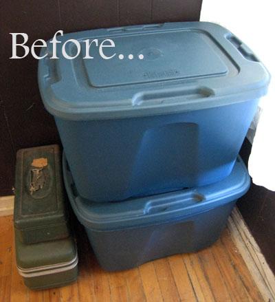 Dear kiki convert storage boxes into no sew seating diy
